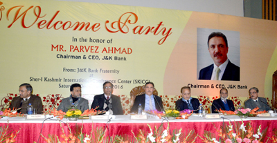 JKB Chairman and other senior officers during a function held at SKICC on Saturday.