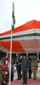 Republic Day Celebrations-2017  Governor hoists tricolor and reviews parade at State level R-Day functi