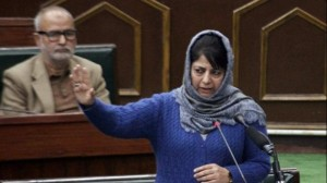 AoA comprehensive document to address confronting J&K issues: Mehbooba