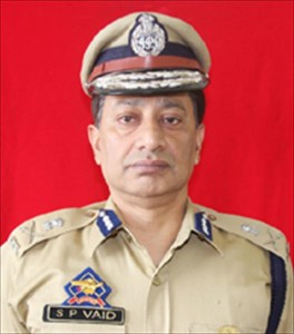J&K DGP for night patrolling in border areas to curb bad element activities
