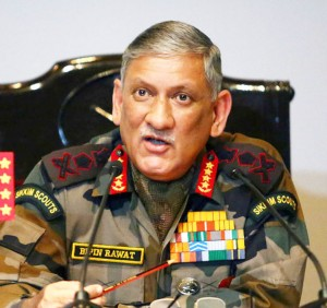 Maintain high vigil along LoC: Army chief to troops