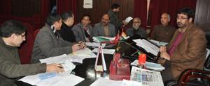 Chairman LC chairs BAC meet