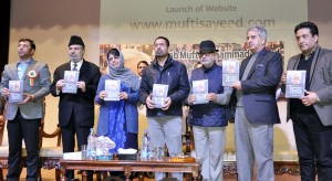 CM releases book on Mufti Mohammad Sayeed; Launches website on late leader