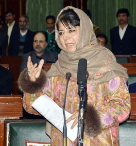 Mehbooba cautions against elements trying to disturb peace