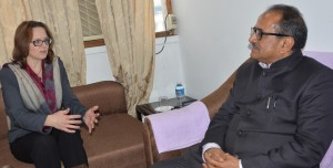 US Diplomat discusses J&K issues with Dy CM