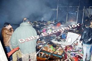 Fire breaks out at Trade Fair in Jammu