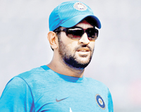 MSD fires but India captaincy swansong ends in defeat