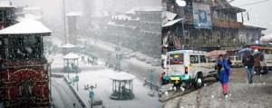 Heavy snowfall in Kashmir, Patnitop; NH blocked, 1000 vehicles stranded