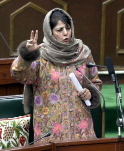 Those trying to target Art 370 are anti-nationals: Mehbooba