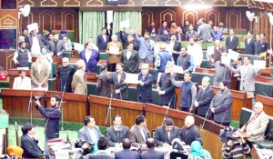 Assembly business suspended, Speaker admits adjournment motion