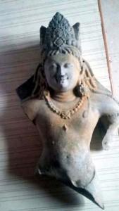 Sculpture of Lord Vishnu Ji excavated