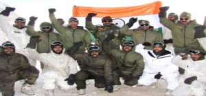 Quick Reaction Team of Army at Siachen
