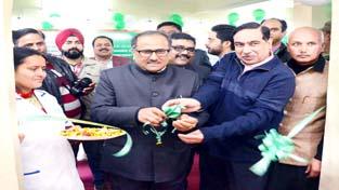 DyCM Dr Nirmal Singh inaugurating Fortis-Consultnext Centre at Gandhi Nagar.
