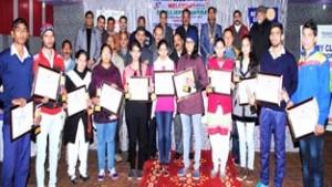 Rotary Club Akhnoor honours meritorious students