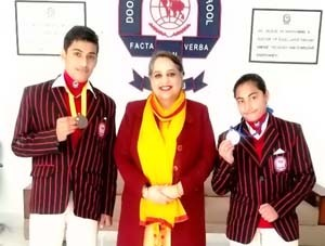 Doon International School students excel