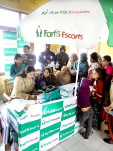 Fortis Amritsar organizes free health check-up camp
