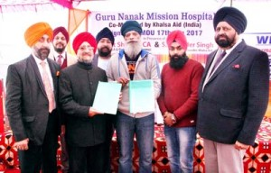 Guru Nanak Mission Hospital signs MoU with Khalsa Aid