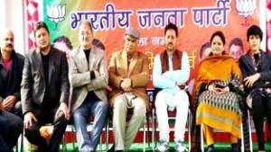 BJP organizes Lohri Milan