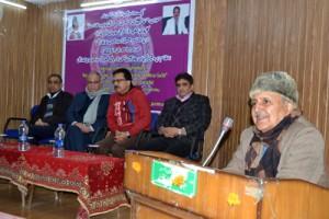 JU organizes international seminar on 'progressive trends in  poetry of Galib'