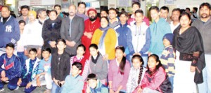 State Junior Jump Rope team leaves for Karnataka
