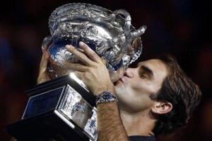 Roger beats Nadal to win Australian Open
