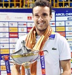 Agut subdues Medvedev to begin 2017 with Chennai Open title