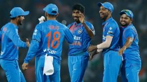 Bumrah stars as India win by 5 runs, level series 1-1