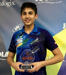 Aryan Mahajan wins 3rd place in 4th Aurora Cup