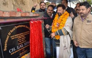 Lal Singh concludes 2-day extensive tour of Basohli