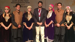 ICCR's J&K Cultural Show  outshines in 'Colours of India'