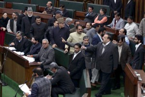 Massive uproar in Assembly, QH disrupted; entire Oppn walks-out