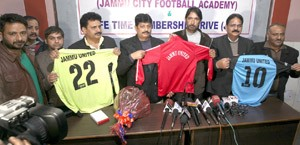 GA Mir launches 1st Football Academy in Jammu
