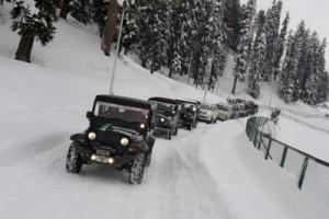 Off-Road Snow Fest held at Gulmarg