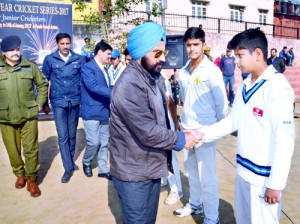 IGP JP Singh inaugurates 7-matches Cricket Series