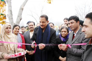 Centre will help develop skills  among Kashmiri youth: Rudy