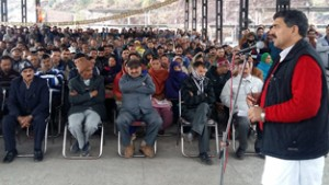 BJP committed to end injustice  with refugees: Jugal Kishore
