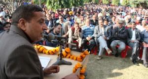 BJP betrayed mandate  of  Jammu people: Sham