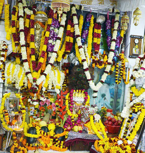 A view of temple at Mathwar.