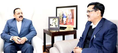 Union Minister Dr Jitendra Singh discussing the plan for