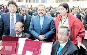 Dr Jitendra calls for entrepreneurship through textile in Northeast