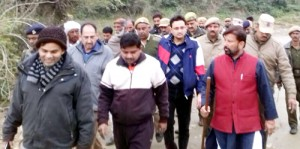 Lal Singh visits Jambu Zoo, takes stock of infrastructure