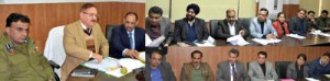 Div Com reviews progress of mega projects