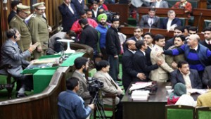 Cong, PDP MLAs indulge in war of words in Assembly