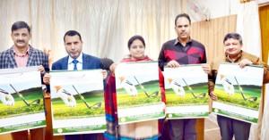 Priya releases Tourism Deptt's calendar