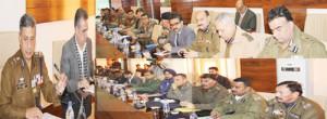 DGP reviews arrangements for RD  celebrations, asks cops to remain vigilant