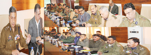 DGP Dr S P Vaid chairing high level meeting on Thursday.