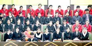 Students of 2 schools witness Assembly proceedings