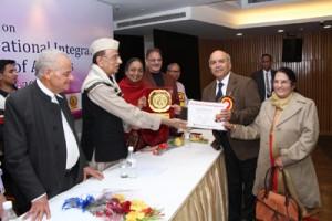 Nanda, Lovely receive Bharat Ratna Dr APJ Abdul Kalam Excellence Award