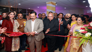 Director Personnel Power Grid, Ravi P Singh inaugurating Intra-Regional Cultural Festival.