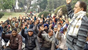 Subash Shastri for interim relief  in favour of Govt employees